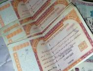 Rs 40,000 prize bonds worth Rs 210 billion withdrawn by Oct 31
