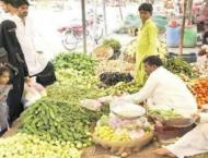 Deputy Commissioner Sialkot, DPO visit fruit, vegetable market
