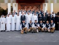 Mohamed bin Zayed receives first group of National peaceful nucle ..