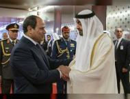 Egyptian President concludes two-day state visit to UAE