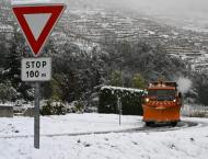 Number of Homes in France's Southeast Without Power Due to Snowfa ..