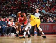 Harden powers shorthanded Rockets past Pacers
