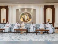 Mohamed bin Zayed receives condolences on death of Sultan bin Zay ..