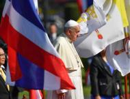 Pope meets Thai Buddhist patriarch on visit promoting religious p ..