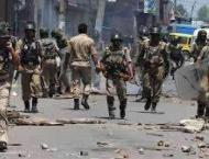 36 innocent Kashmiris martyr during anti-India demonstrations by  ..