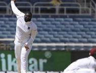 Giant Cornwall strikes as W. Indies take the lead in Afghanistan  ..