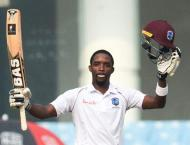 Brooks ton gives West Indies 90-run lead in Afghanistan Test