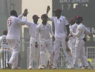 Afghanistan bowl out West Indies for 277 in only Test