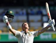 Warner, Labuschagne plunder 50s in day-night Pakistan Test