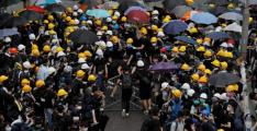 """Two German students arrested for """"unlawful assembly"""" over Hong Kong protests: police ajp/ind"""