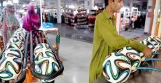 Sports goods' exports dip over 3 percent