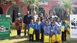 PTCL, WWF conduct Spellathon in school of Haripur