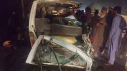 6 killed,4 injured in van-truck collision in Muzaffargarh