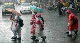 Light to moderate rain forecast for next 24 hours