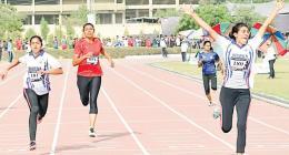 Najma, Maria Maratab comes up as shining star athletes of 33rd National Games
