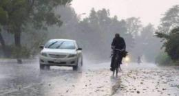 Widespread rain wind-thunderstorm likely at scattered palces :MET Office