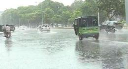 City receives rain, weather turns cold in Multan