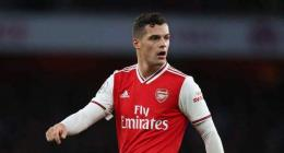 Xhaka's 'mindset is better' after spat with fans, says Arsenal's Emery