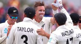 New Zealand v England first Test scoreboard