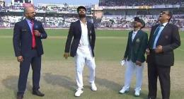 Bangladesh opt to bat in India's first day-night Test