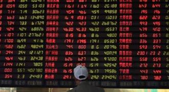 Tokyo stocks open lower 19 November 2019