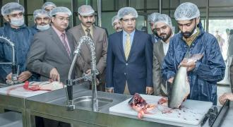 UE Vice-Chancellor Prof TalatNaseer Pasha inaugurate Fish Processing Unit on World Fisheries Day obs ..