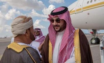 وزیر شوٴون الدفاع العماني بدر بن سعود ..