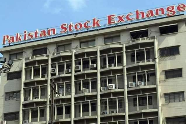 The Pakistan Stock Exchange (PSX) loses 64 points to close at 33,797points