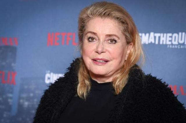 Catherine Deneuve hospitalized after  limited' stroke