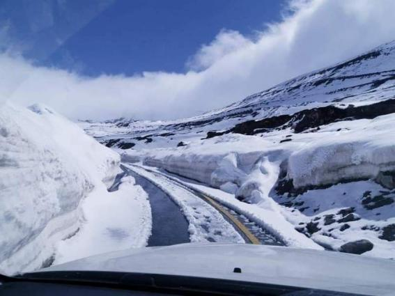 Babusar top, Kaghan road closed for six months