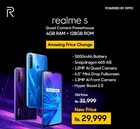 Realme announced a new variant of Entry level king realme C2 along with an exciting price discount on the best seller hero devicerealme 5
