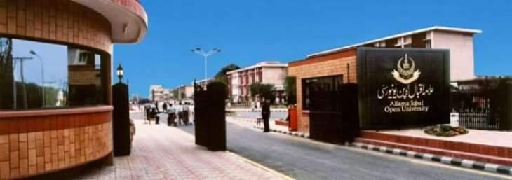 Allama Iqbal Open University (AIOU)  to uphold Iqbal's thoughts in its educational pursuits: Dr Zia