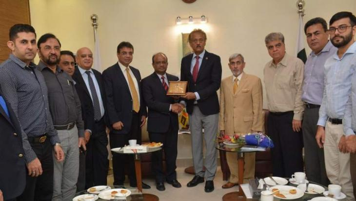 Karachi Chamber of Commerce and Industry invited to send business delegation to Sri Lanka