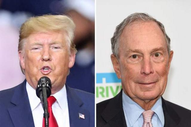 Trump Says Democratic Presidential Hopeful Bloomberg 'Will Fail' in 2020 Election