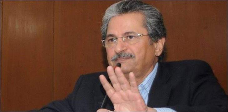 Govt not to do politics on Nawaz Sharif's health: Shafqat Mehmood