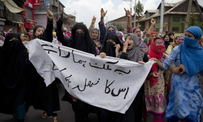 Silent protest continues on 101st day in IOK