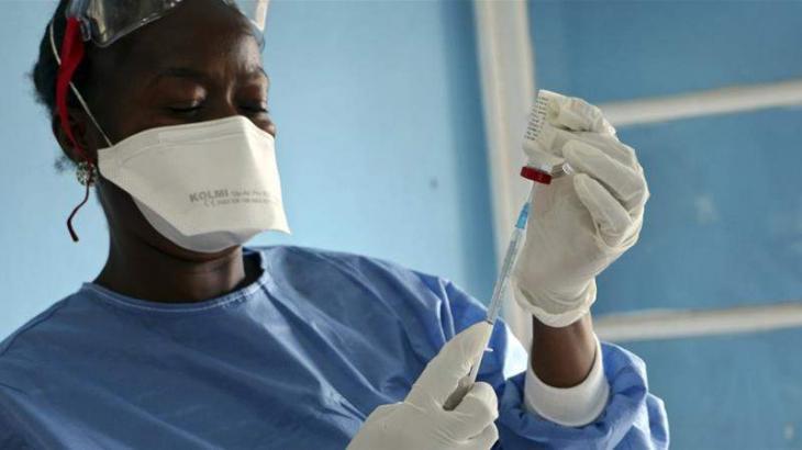 Second Ebola vaccine introduced in DR Congo
