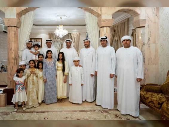 Mohamed bin Zayed visits Mohammed Atiq Al Falahi