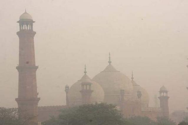 Smog turns air 'hazardous' in Lahore and adjoining area