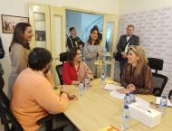 Queen Maxima of Netherlands visits GharPar Tech Pvt Limited to di ..