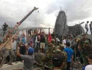 Three Cambodians die in building collapse at pagoda: police