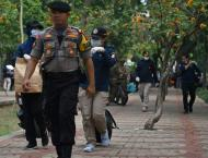 Two injured after smoke grenade explodes in Jakarta