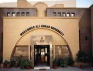 Muhammad Ali Jinnah University intl. conference on Biosciences fr ..