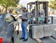 DRTA challans 25 drivers, 5 vehicles impounded in police stations ..
