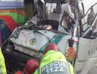 12 killed, 1034 injured in 945 accidents in Punjab