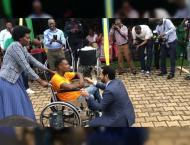 UAE Embassy in Rwanda distributes wheelchairs to people of determ ..