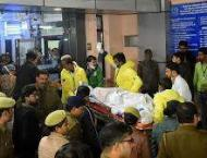 Rape victim set ablaze by five men dies in Dehli hospital