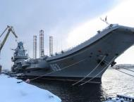 Two Workers Missing After Fire at Russia's Admiral Kuznetsov - Em ..