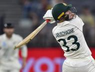 Centurion Labuschagne out as Kiwi bowlers battle heat in Perth