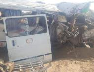 Pick up-bus collision: 15 burnt to death